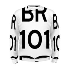 Brazil BR-101 Transcoastal Highway  Men s Sweatshirt