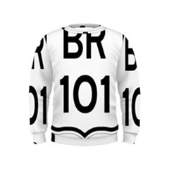 Brazil BR-101 Transcoastal Highway  Kids  Sweatshirt