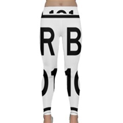 Brazil BR-101 Transcoastal Highway  Classic Yoga Leggings