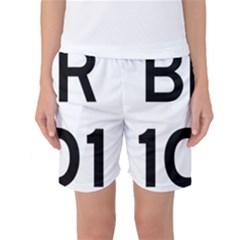 Brazil BR-101 Transcoastal Highway  Women s Basketball Shorts