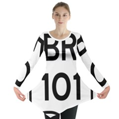 Brazil BR-101 Transcoastal Highway  Long Sleeve Tunic