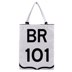 Brazil BR-101 Transcoastal Highway  Classic Tote Bag
