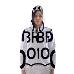 Brazil BR-101 Transcoastal Highway  Hooded Wind Breaker (Women)