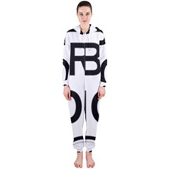 Brazil BR-101 Transcoastal Highway  Hooded Jumpsuit (Ladies)