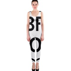 Brazil BR-101 Transcoastal Highway  OnePiece Catsuit