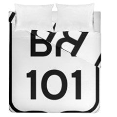 Brazil BR-101 Transcoastal Highway  Duvet Cover Double Side (Queen Size)