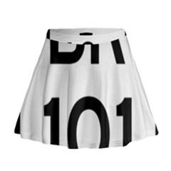 Brazil BR-101 Transcoastal Highway  Mini Flare Skirt