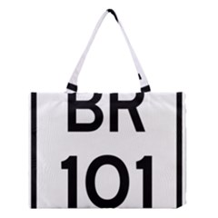 Brazil BR-101 Transcoastal Highway  Medium Tote Bag