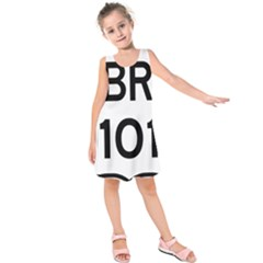 Brazil BR-101 Transcoastal Highway  Kids  Sleeveless Dress