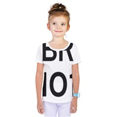 Brazil BR-101 Transcoastal Highway  Kids  One Piece Tee