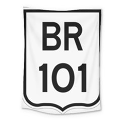 Brazil BR-101 Transcoastal Highway  Medium Tapestry