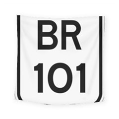 Brazil BR-101 Transcoastal Highway  Square Tapestry (Small)