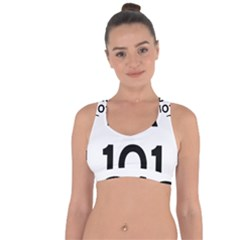 Brazil BR-101 Transcoastal Highway  Cross String Back Sports Bra