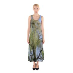 Willow Tree Sleeveless Maxi Dress
