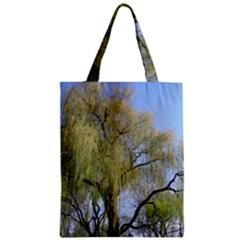 Willow Tree Zipper Classic Tote Bag