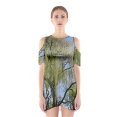 Willow Tree Shoulder Cutout One Piece