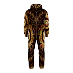 Gathering the Five Fractal Colors Of Magic Hooded Jumpsuit (Kids)