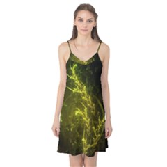 Beautiful Emerald Fairy Ferns in a Fractal Forest Camis Nightgown