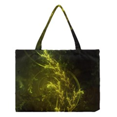 Beautiful Emerald Fairy Ferns in a Fractal Forest Medium Tote Bag
