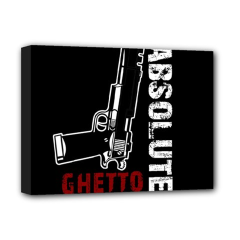 Absolute ghetto Deluxe Canvas 16  x 12