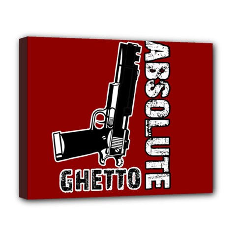Absolute ghetto Deluxe Canvas 20  x 16