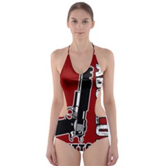 Absolute ghetto Cut-Out One Piece Swimsuit