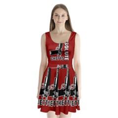 Absolute Ghetto Split Back Mini Dress