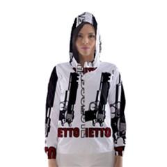 Absolute ghetto Hooded Wind Breaker (Women)