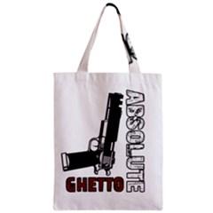 Absolute ghetto Zipper Classic Tote Bag