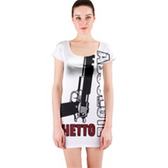 Absolute ghetto Short Sleeve Bodycon Dress
