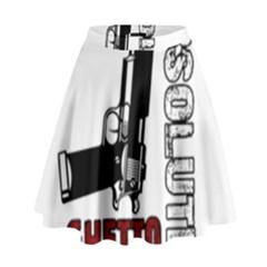 Absolute ghetto High Waist Skirt