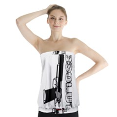 Absolute ghetto Strapless Top