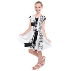 Absolute ghetto Kids  Short Sleeve Dress
