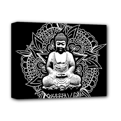 Ornate Buddha Deluxe Canvas 14  x 11