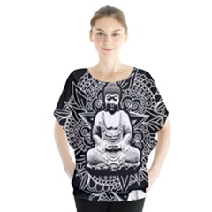 Ornate Buddha Blouse