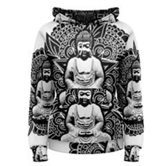Ornate Buddha Women s Pullover Hoodie