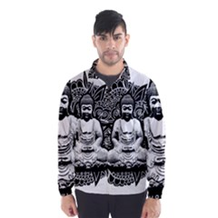 Ornate Buddha Wind Breaker (Men)