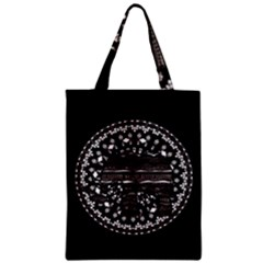 Ornate mandala elephant  Zipper Classic Tote Bag