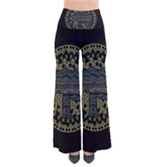 Ornate mandala elephant  Pants