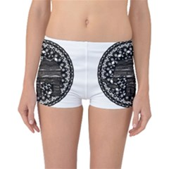 Ornate mandala elephant  Boyleg Bikini Bottoms