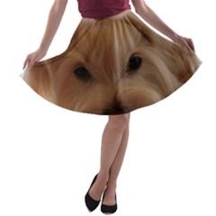 Maltese 3 A-line Skater Skirt
