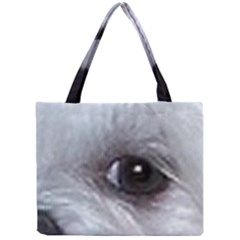 Maltese Eyes Mini Tote Bag