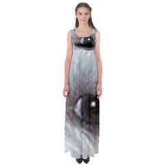 Maltese Eyes Empire Waist Maxi Dress