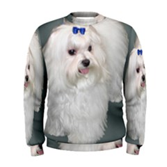 Maltese Full 2 Men s Sweatshirt
