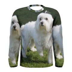 Maltese Full Men s Long Sleeve Tee