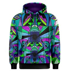 Arcturian Astral Travel Grid   Men s Pullover Hoodie
