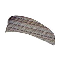 Stripy Knitted Wool Fabric Texture Stretchable Headband