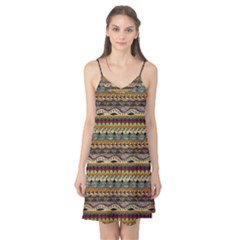 Aztec Pattern Camis Nightgown