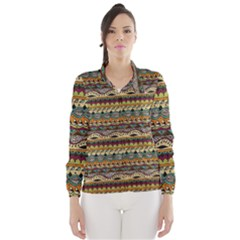 Aztec Pattern Wind Breaker (women)