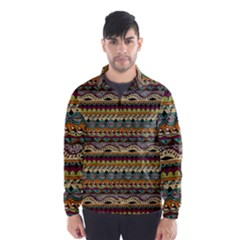 Aztec Pattern Wind Breaker (Men)